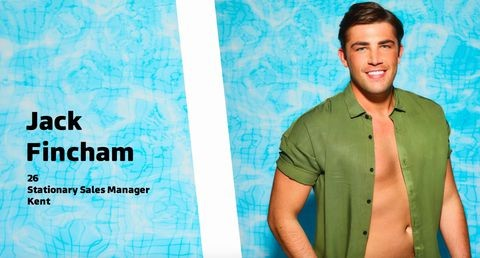 Jack Love Island Profile