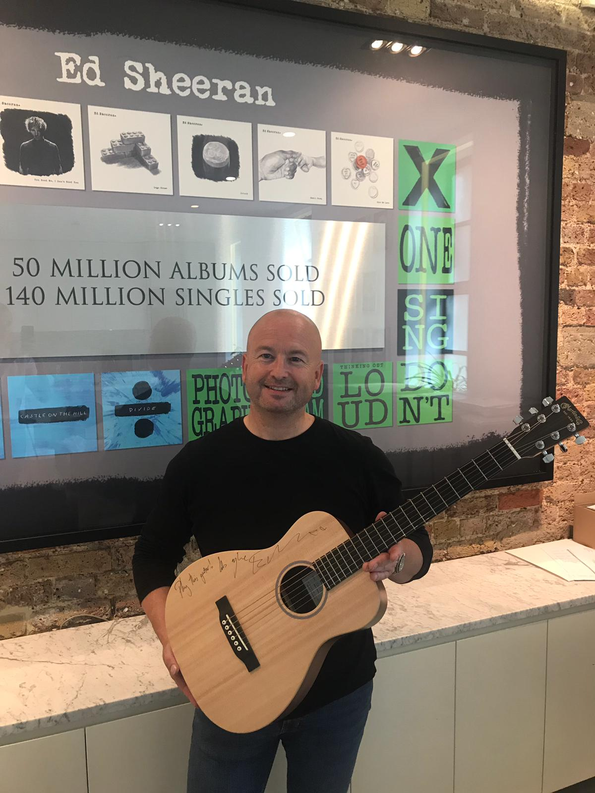 Guitar set to be eAuctioned through eSourcing provider Market Dojo